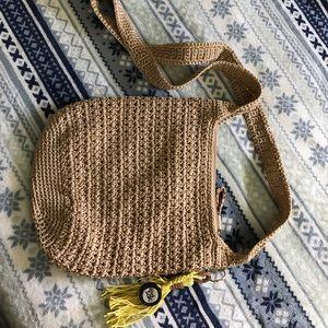 The Sak Handbags - The Sak Crochet Crossbody in Bamboo