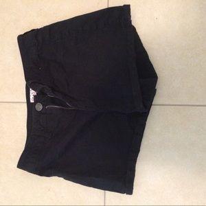 Pants - Black high waisted shorts
