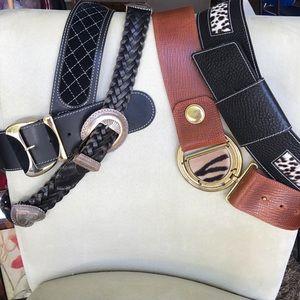 Linea Pelle Accessories - ⚡️SALE⚡️Bundle of Designer Belts