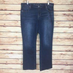 Ava & Viv Denim - Ava & Viv Boot Cut Jeans Blue Denim Size 16W