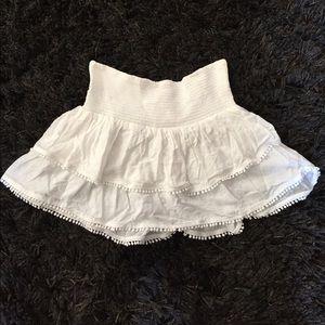 Victoria's Secret Other - Victoria's Secret White Cover Up Skirt