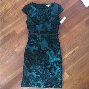 Dresses & Skirts - NWT Green and black dress