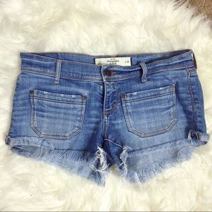 Abercrombie & Fitch Pants - A&F Distressed Shorts