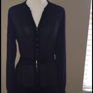 Tildon Dresses & Skirts - Tildon black sheer chiffon