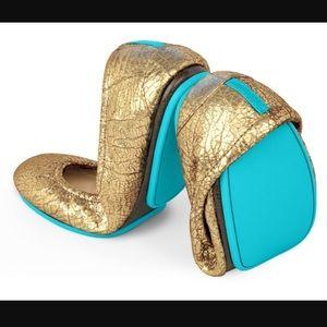 Tieks Shoes - Tieks Golden Glitz- Size 7