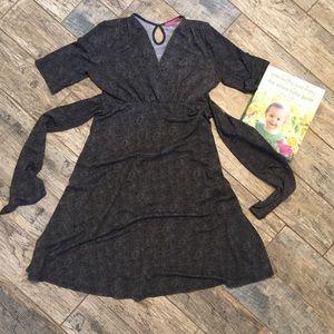 Maternal America Dresses & Skirts - Flattering maternity dress w/empire waist