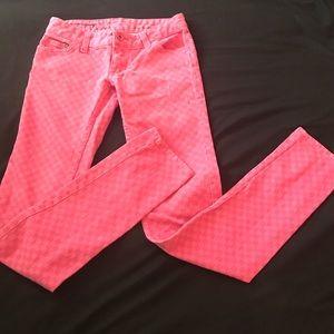 Vans Denim - Pink denim skinny jeans