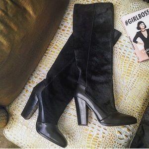 10 Crosby Derek Lam Shoes - NWOT*Suede and Calf Hair 10 Crosby Derek Lam Boots