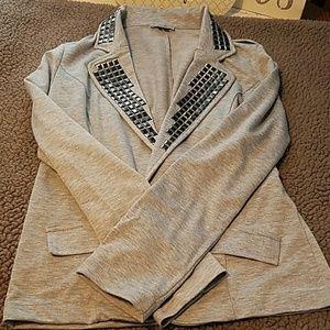 Studded blazer!