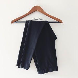 Ivanka Trump Pants - 🆕 Ivanka Trump Faux Leather Stripe Leggings