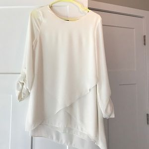 The Limited Ivory Blouse
