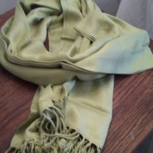 Accessories - Lime Green Wrap Scarf