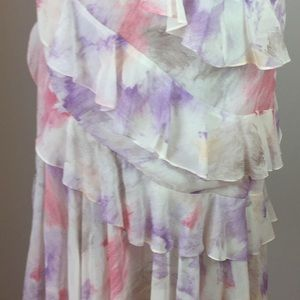Vintage Dresses - Vintage 20's style Floral Gatsby Flapper dress