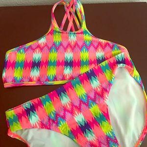 NWT Girls Neon Bikini