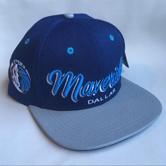 440790e5a47 Dallas Mavericks Premium strapback hat. NWT. Pro Standard