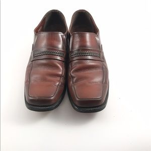 Weyenberg Other - Weyenberg Massagic men's burgundy leather loafers
