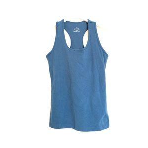 Beyond Yoga Tops - Beyond Yoga teal blue racerback tank top small