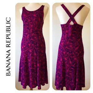 Banana Republic Criss Cross Back Dress