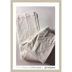 Tocca Pants - Designer Stretch Linen Trousers