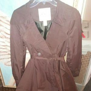Esley Jackets & Blazers - Esley brown belted ladies trench coat. Large