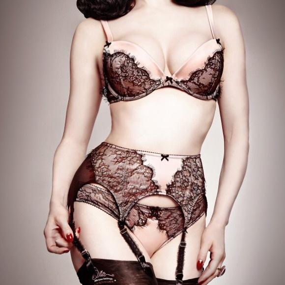 1eb2b83127b Man catcher lingerie set by Dita Von Teese