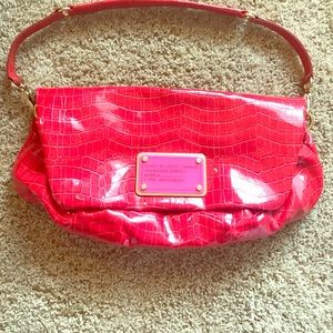 Marc by Marc Jacobs Handbags - ‼️Hard to Find‼️ Red Marc Jacobs Leather Bag