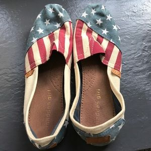 Madden Girl Shoes - Madden girl American flag shoes