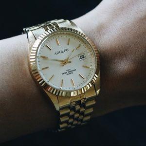 Adolfo Accessories - Vintage Gold Watch