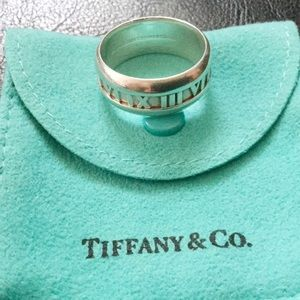 Tiffany & Co. Other - Tiffany & Co. Atlas Sterling Silver Ring