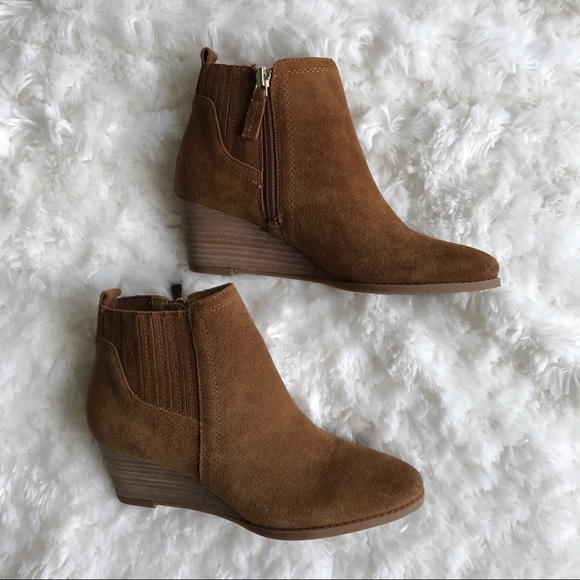 851d43b17e2 Franco Sarto Shoes - NWOB Franco Sarto Wayra Wedge Suede Booties