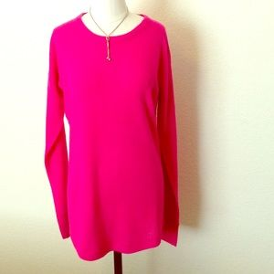 Sweet Romeo Tops - 🆕NWT hot pink tunic with great detailing