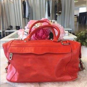 Rebecca Minkoff red MAB leather bag