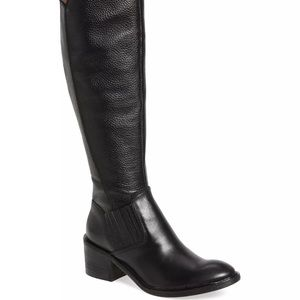 Donald J. Pliner Shoes - Donald J Pliner NEW Envy Black Leather 7.5 boots