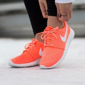 Nike Shoes - Nike Roshe One Bright Mango Sneakers