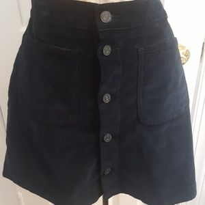 MOTHER Dresses & Skirts - Mother corduroy skirt