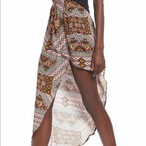 Tribe Aztec Drape Skirt