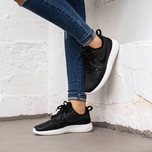 Nike Shoes - Nike Black Leather Roshe Two Sneakers