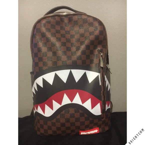 Bape Shark Backpack >> Bape Bags Sharks In Paris Backpack Poshmark