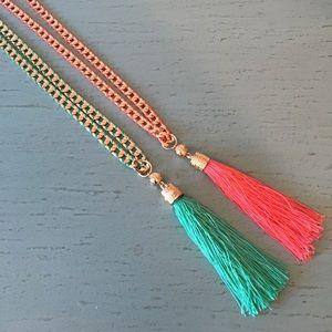 NEW! BCBG Tassel Necklace