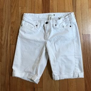 "H&M Pants - H&M 9"" inseam Bermuda shorts white 29"