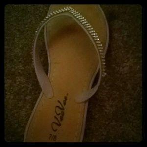 24th & Ocean Shoes - purple flip flops