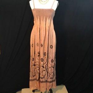 """Lapis Dresses & Skirts - """"Lapis"""" Boho Maxi Dress or Skirt"""