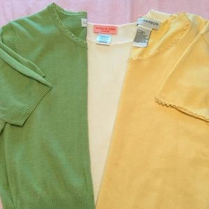 many Tops - BUNDLE OF YEAR ROUND KNIT LIGHTWEIGHT SWEATER