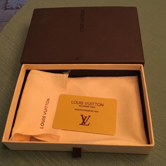 Louis Vuitton Accessories Lv Box Duster Card Poshmark
