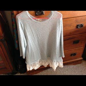 Krazy Kat Tops - Women's  light weight springtime sweater
