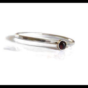nejd Jewelry - ❗️sale❗️925 Sterling Silver Red Garnet Ring