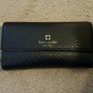 Kate Spade  Handbags - Kate Spade Pebbled Leather Wallet PRICE FIRM!!