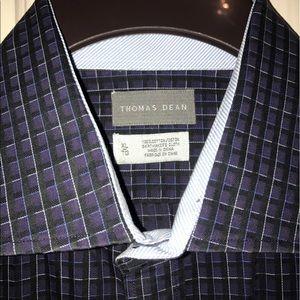 Thomas Dean Other - 💲⬇️EUC 💙THOMAS DEAN💙Button Down Flip Cuff Shirt