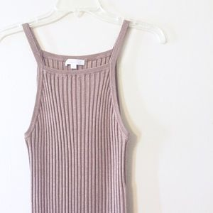 Boutique Dresses - Ribbed bodycon midi dress
