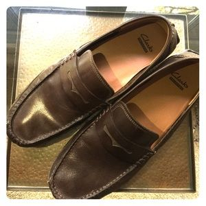 Clarks Ashmont Way Leather Loafer
